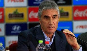 """Juan Carlos Oblitas: """"Yo le pedí a Oviedo que salga y de explicaciones"""""""