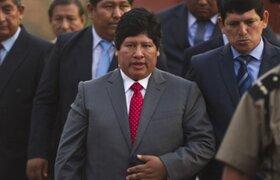 Declaran infundado pedido de prisión preventiva para Edwin Oviedo