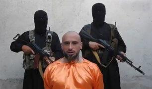 Siria: Estado Islámico difunde videos de prisioneros que imploran ayuda