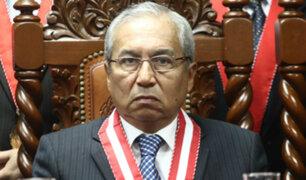 Junta de Fiscales Supremos: Pedro Chávarry se niega a renunciar