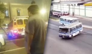 """""""Choferes sin limites"""" continúan generando caos en las calles de Lima"""
