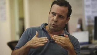 Aldo Mariátegui se pronuncia tras audio que revela reunión con juez Hinostroza