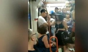 España: niña es víctima de racismo al interior del Metro de Madrid