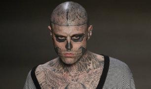 Canadá: encuentran muerto al modelo 'Zombie Boy'