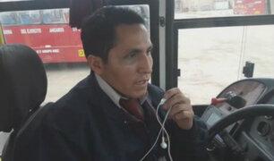 Chofer relata cómo se produjo la agresión al interior de vehículo de transporte público