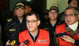 Ministro del Interior brinda detalles sobre megaoperativo en La Victoria