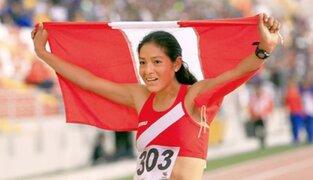 Campeona Inés Melchor anuncia su retiro definitivo del atletismo