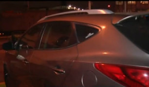 Aparece dueño de vehículo usado para asaltar banco en Plaza Norte
