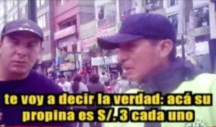'Los Intocables Ediles': cobraban cupos a comerciantes informales