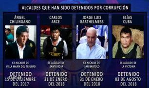 Alcaldes de Solidaridad Nacional detenidos por Corrupción