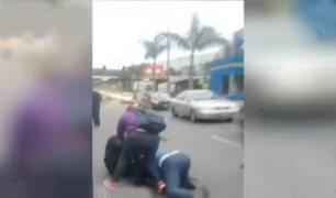 Plaza Norte: ambulantes denuncian haber sido agredidos por personal de seguridad