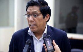 Ministro Zeballos: Congreso debe dar celeridad a proyectos sobre reforma de justicia