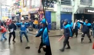 La Victoria: detienen a alcalde y se desata el caos en calles de Gamarra