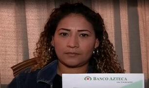 Mujer retorna al Perú después de 39 años y se enteró de préstamo que nunca solicitó