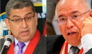 Congresistas opinan tras difundirse audio entre juez San Martín y Walter Ríos