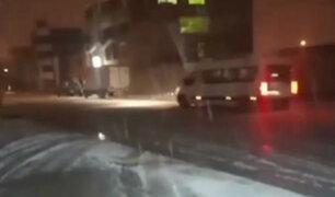 Cusco: intensa nevada viene afectado a pobladores de Espinar
