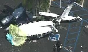 EEUU: al menos cinco fallecidos tras estrellarse avioneta en California