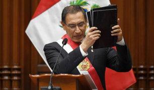 Vizcarra: esta semana se enviará al Congreso tres nuevos proyectos de reforma