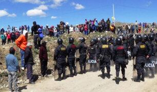 Iquitos: decenas de invasores se enfrentaron a la policías durante desalojo