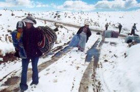 Nevada cubre por completo varias provincias altas de la región Cusco