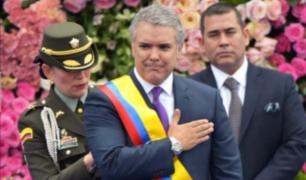 Iván Duque asume oficialmente la presidencia de Colombia