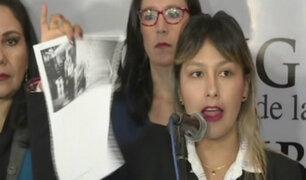 Arlette Contreras denunció a Chávarry por cambio de fiscal que tendría vínculos con su agresor