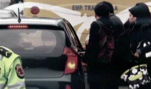 Cerca de 80 mil taxis colectivos vienen circulando por la capital
