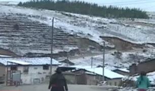 Apurímac: acumulación de nieve y hielo viene afectado a sus pobladores