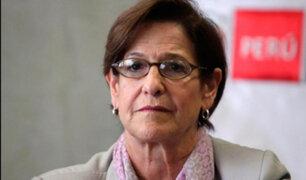 Autoridades evaluarán pedido de comparecencia restringida para Susana Villarán