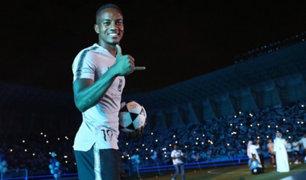 André Carrillo y el increíble recibimiento en el King Saud University Stadium