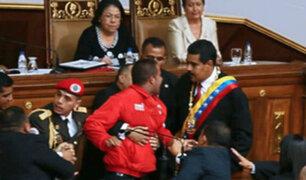 Venezuela: hallan muerto a sujeto que irrumpió durante juramentación de Nicolás Maduro