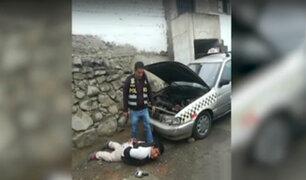 Capturan a cabecilla de banda de 'robacarros' que extorsionaba a taxistas en Independencia