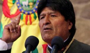 """Evo Morales reclamará a La Haya por """"contradicciones"""" de fallo con Chile"""