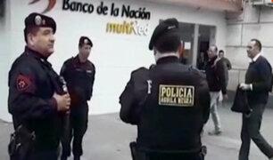 Magdalena: reportan asalto en agencia del Banco de la Nación