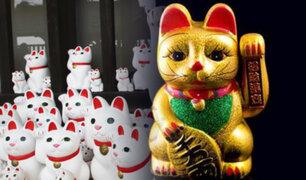 """Maneki Neko: esta es la historia del llamado """"Gato de la Suerte"""""""