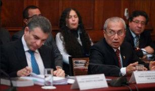 Fiscal Chavarry y Rafael Vela se presentan ante comisión Lava Jato