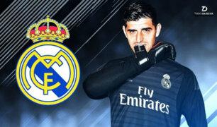 Thibaut Courtois es nuevo jugador del Real Madrid