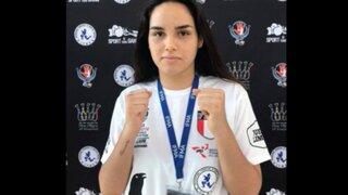 Peruana Arena Castro es la nueva campeona mundial juvenil de Muay thai