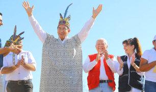 Vizcarra renueva compromiso de proteger derechos de pueblos indígenas