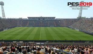 Estadio peruano hará historia al aparecer en videojuego PES 2019