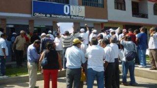 Pensionistas se pronuncian sobre detención de mafia en la ONP