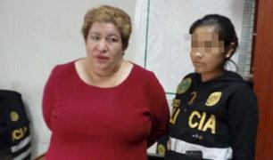 Huánuco: detienen a mujer que se hacia pasar como secretaria del ministro del Interior