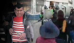 Arequipa: atacan a falso taxista acusado de violar y asesinar a una joven