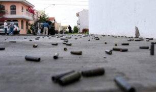 Ayacucho: policía resulta herido tras intervención a vehículo sospechoso