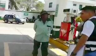 Piura: delincuentes armados asaltan grifo en Catacaos