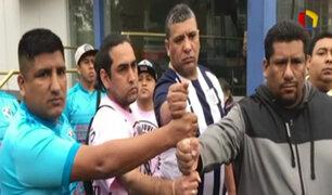 Fútbol sin violencia: barras de Universitario y Alianza Lima se unen por la paz