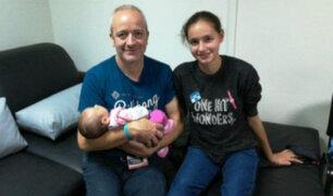 Patricia Aguilar retornó a España junto a su familia