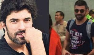 Engin Akyürek: reconocido actor turco llegó a Lima para estreno de su película