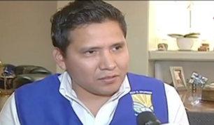 JEE declaró improcedente candidatura de Guido Iñigo a VMT