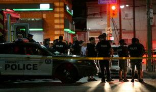 Al menos cuatro muertos dejó un tiroteo en Canadá
